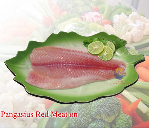 Mua Cá tra màu đỏ thịt