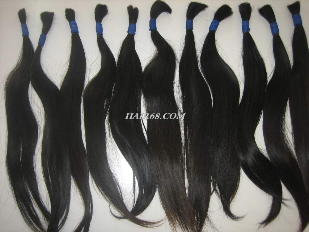 """Thin wavy Hair 22""""(55cm) -Fast shipping service safety and best quality of thin hair"""