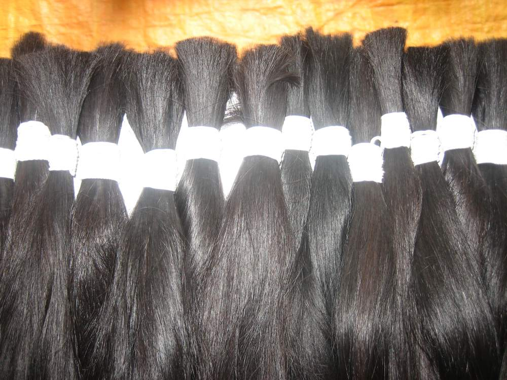"""THICK STRAIGHT HAIR 12"""" (30Cm) BEST QUALITY ,100% NATURAL"""