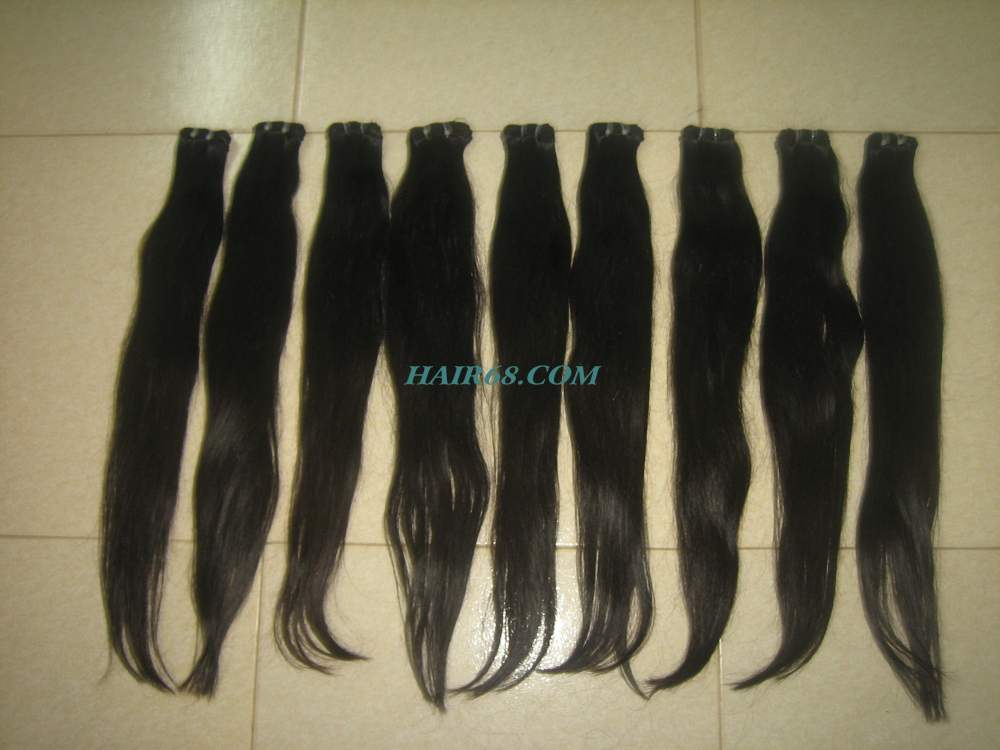 """SINGLE WAVY WEFT HAIR/28""""(70cm)/GOOD QUALITY MATERIA FOR HAIR EXTENSION"""