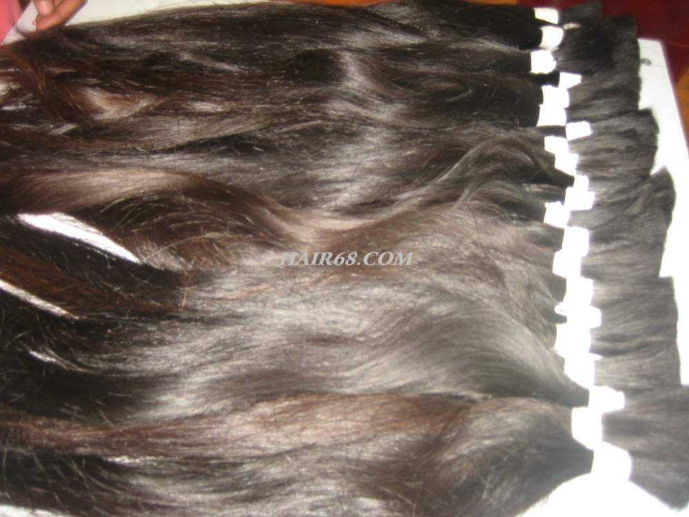 """Thick wavy hair/32""""(80cm)/100% Vietnam human hair"""