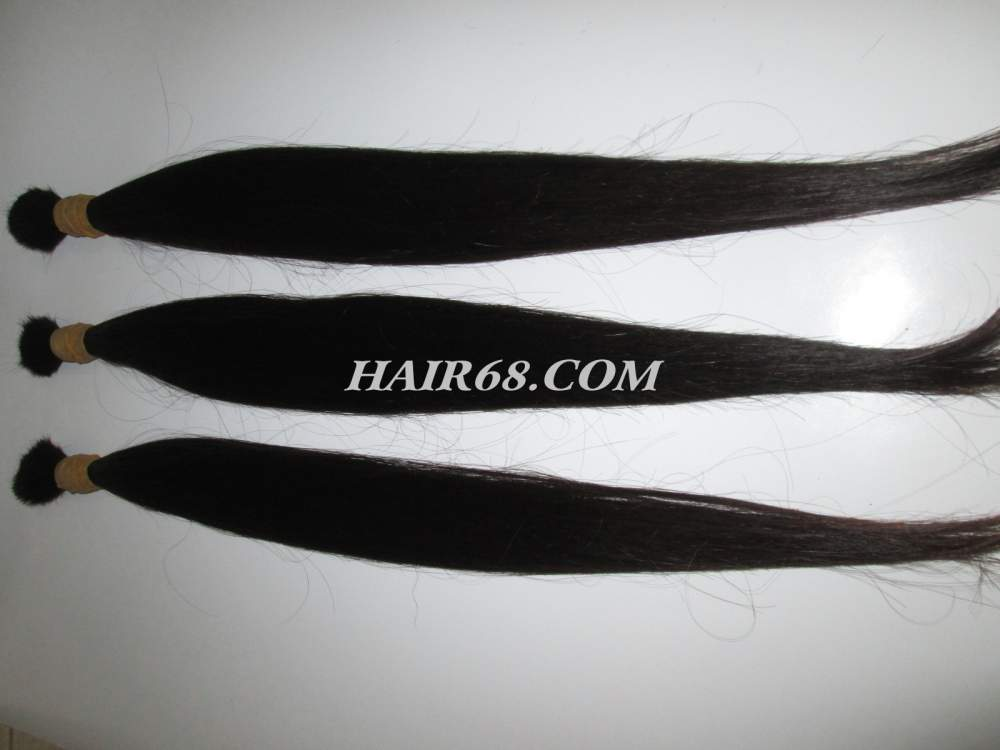 "Thin hair straight-24""(60cm)-large stock natural vietnam hair"