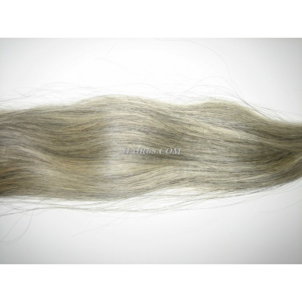 """Grey hair-32""""(80cm)-top quality of vietnam remy hair company"""