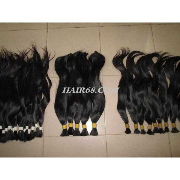"Thick wavy hair/20"" (50cm)/100% remy hair"
