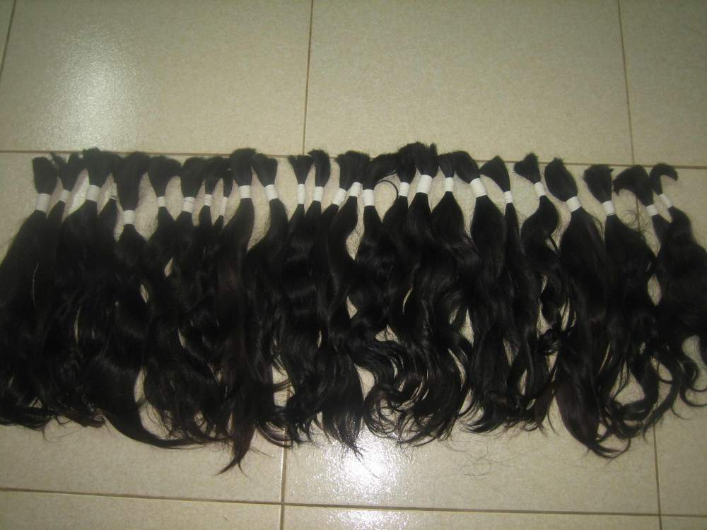 "Thin hair-14""(35cm)-100% vietnam remy hair high quality of vietnam remy hair company"