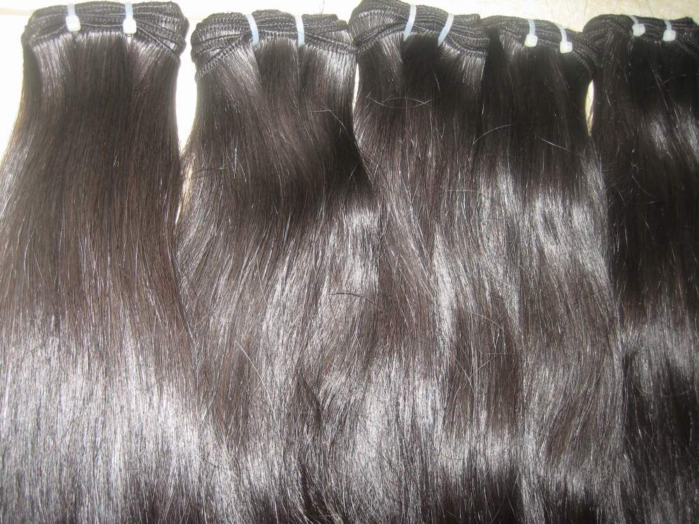 "Single machine weft hair/18""(45cm)/Wholesale cheap human hair extension for all countries"