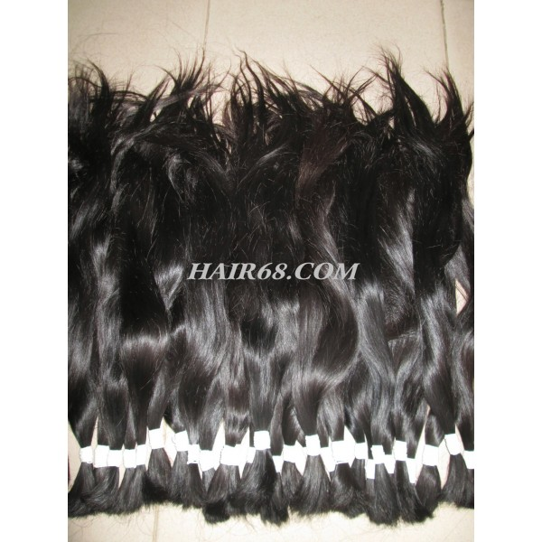 "Thick wavy hair/22"" (55cm)/never non-remy hair"