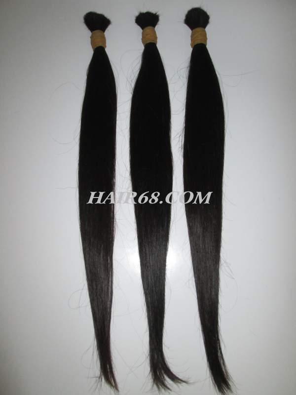 "Thin hair-26""(65cm)-no dey no chemica"