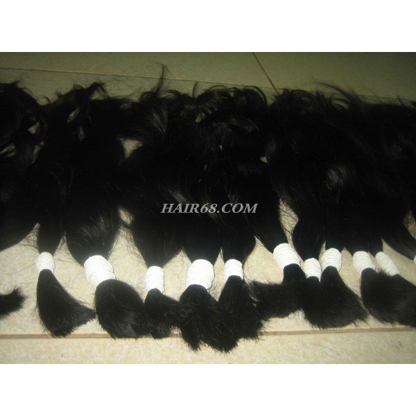 "Thick wavy hair 24"" (60cm) never non-remy hair"