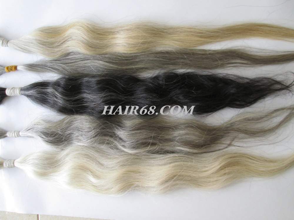 "GREY HAIR-12""(30cm)-THE BEST PRICE BEST QUALITY OF GREY HAIR"