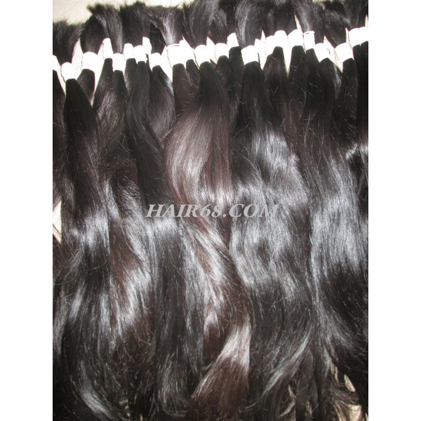"Thick wavy hair/24""(60cm)/100% original hair/best quality"