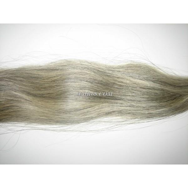 "Grey hair-20""(50cm)-100% natural vietnam remy hair company"