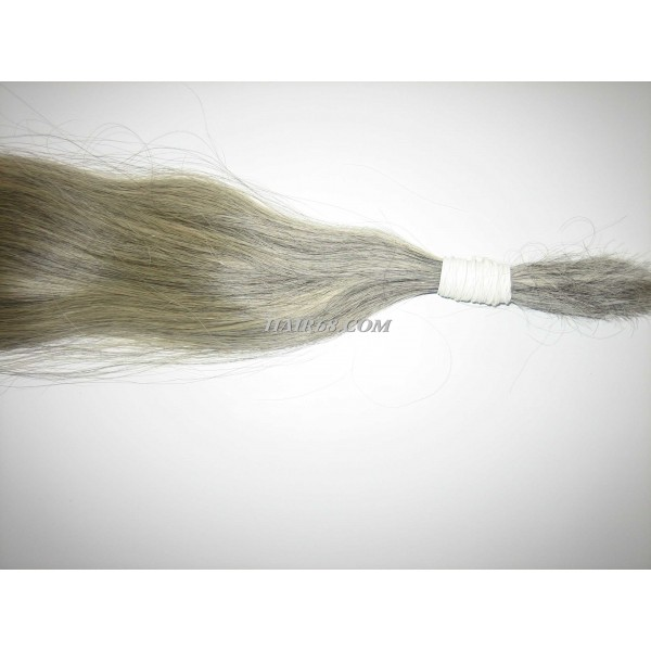 "Grey hair-34""(85cm)-vietnam hair high quality"