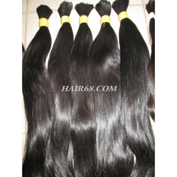 "Thick wavy hair/24""(60cm)/NATURAL HAIR COLOUR / NO CHEMICALS."