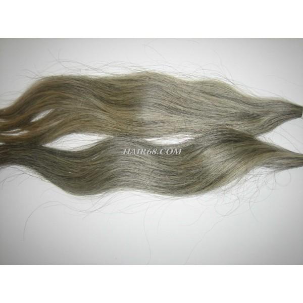 "Grey hair-26""(65cm)-low price top quality of vietnamese hair"