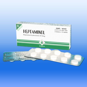 Mua Heptaminol