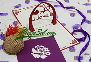 Mua 3D POP UP CARD LOVE PL029