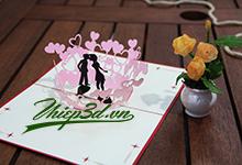 Mua 3D POP UP CARD LOVE PL047