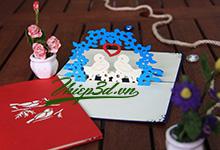 Mua 3D POP UP CARD LOVE PL012