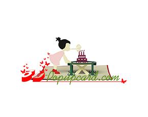 Mua Pop Up 3D Card 1 -Birthday 0030
