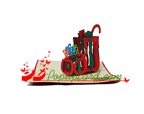 Mua Pop Up 3D Card - Christmas PX032