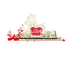 Mua Pop Up 3D Card 2 - Love 0036