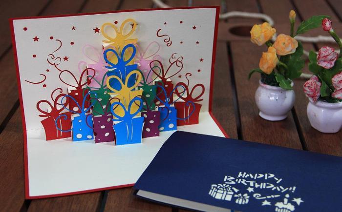 Mua Card 90 degree Gift Box