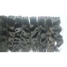 Mua 26 inch Wavy Human Hair Extensions - Single Drawn