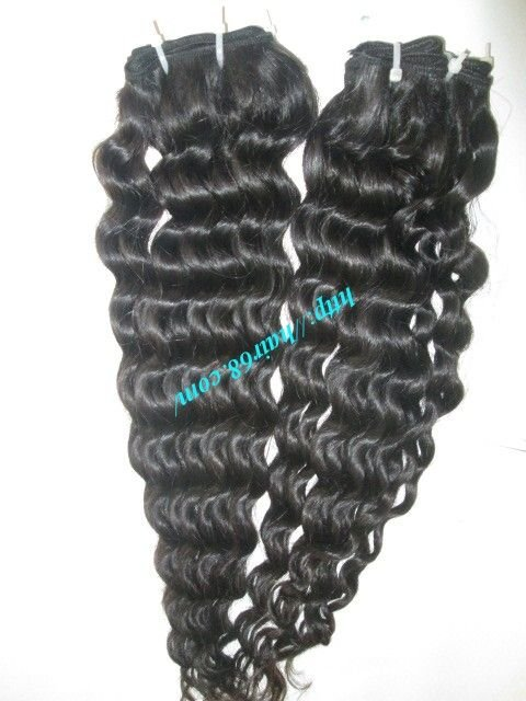 8 inch Curly Weave Human Hair – Single Drawn
