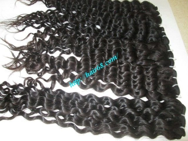 Mua 16 inch Best Curly Human Hair Weave – Single Drawn