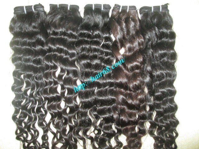 Mua 18 inch Cheap Curly Human Hair Weave – Single Drawn