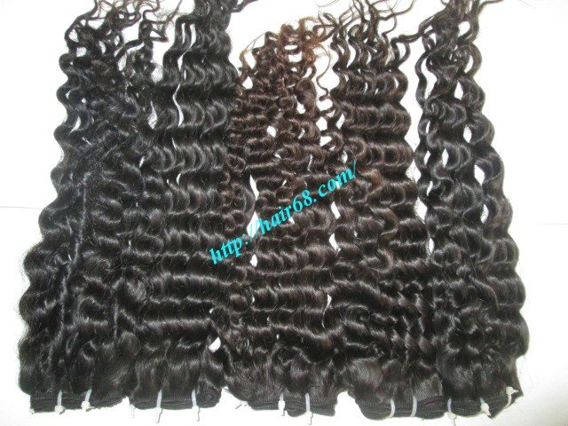20 inch Curly Weave Human Hair– Single Drawn