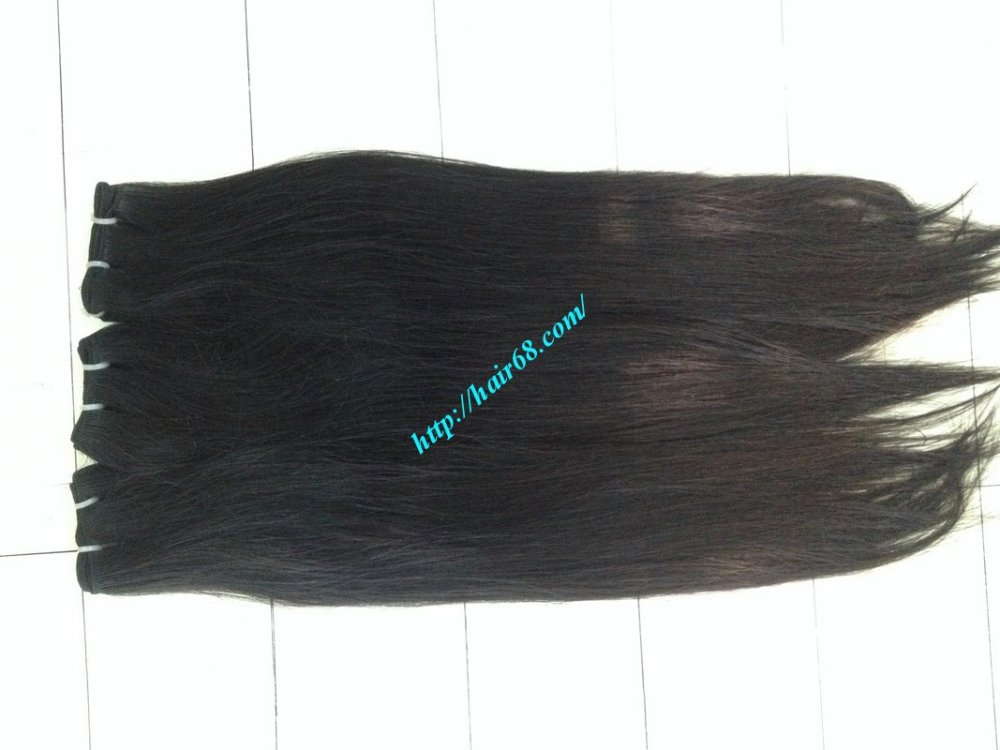 Mua 16 inch Remy Hair Weave Extensions - Double Straight