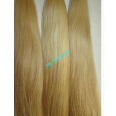 20 inch Blonde Human Hair Extensions Cheap - Straight
