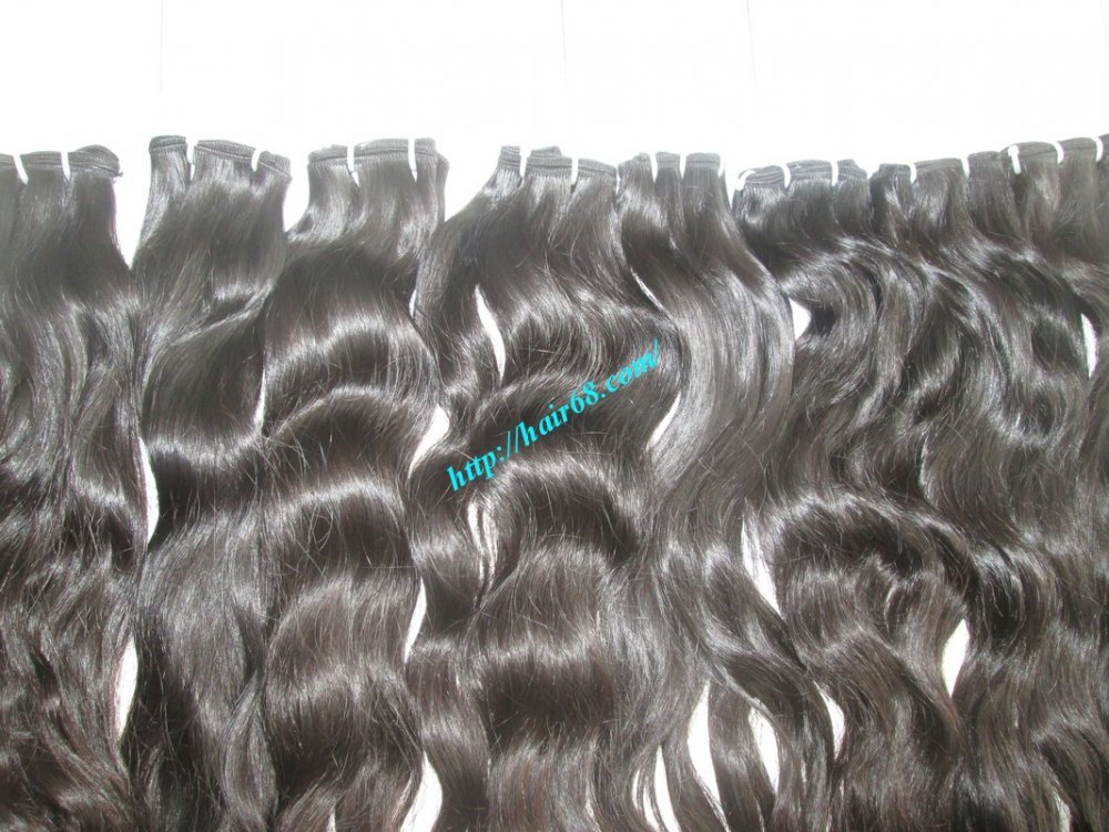 10 inch Wavy Weave Human Hair – Single Drawn
