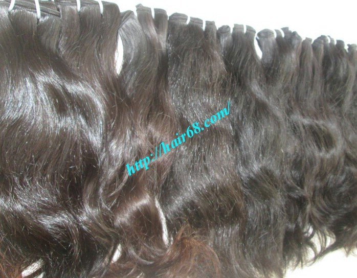 Mua 24 inch Wavy Human Weave Hair - Single Drawn