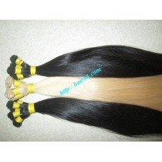 Mua 10 inch Hand Tied Human Hair Weft – Straight Single