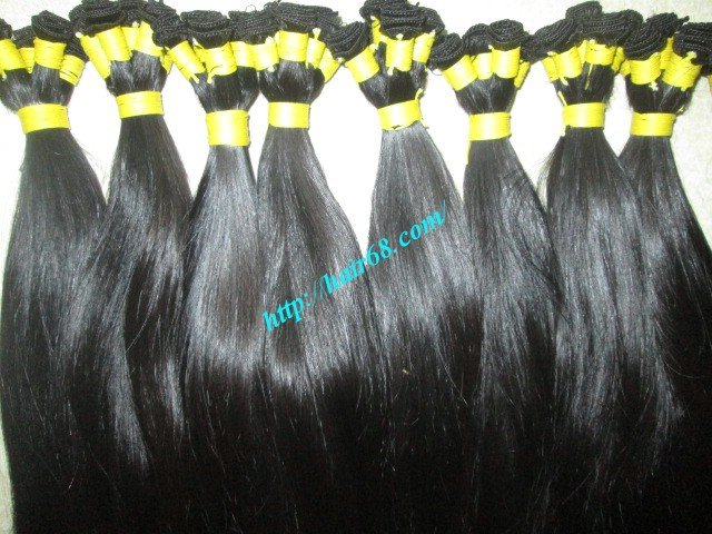 Mua 30 inch Hand Tied Human Hair Wefts – Straight Single