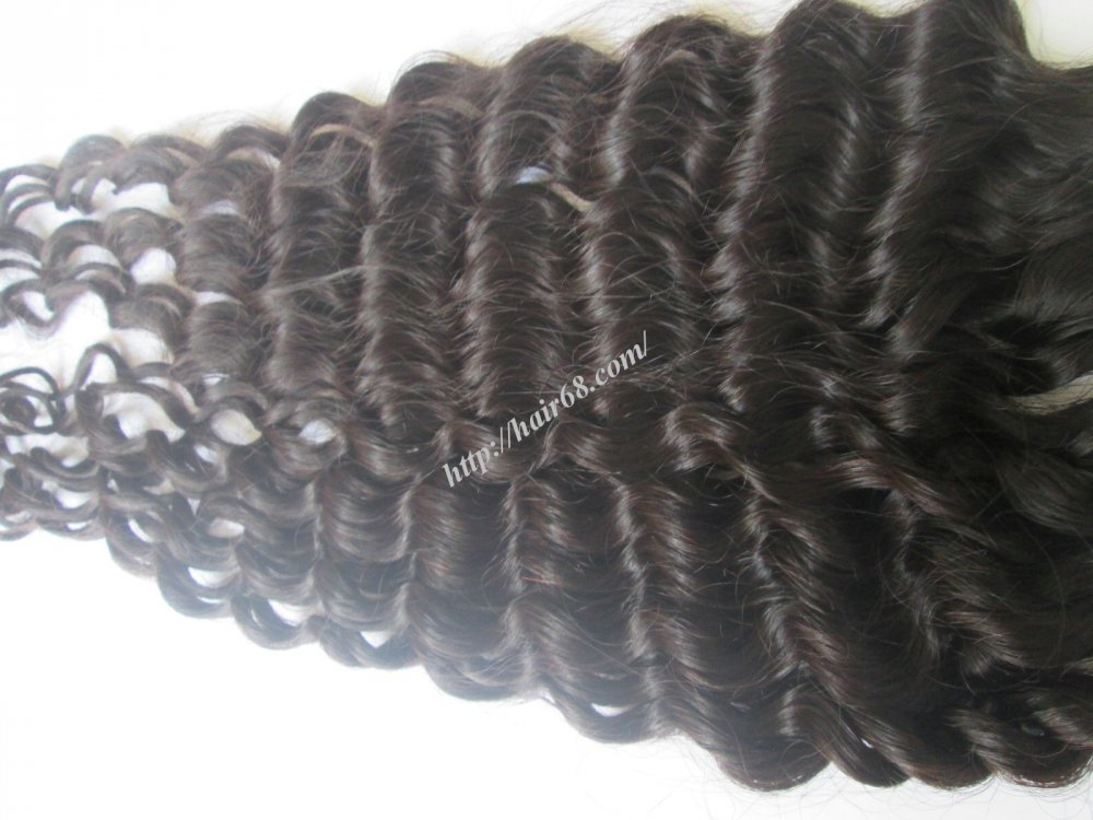 Mua 8 inch Remy Curly Weave Human Hair – Single Drawn