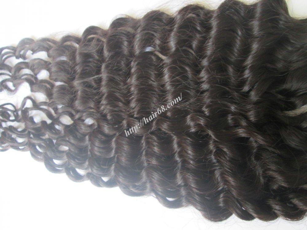 Mua 8 inch Remy Curly Weave Human Hair – Single Drawn