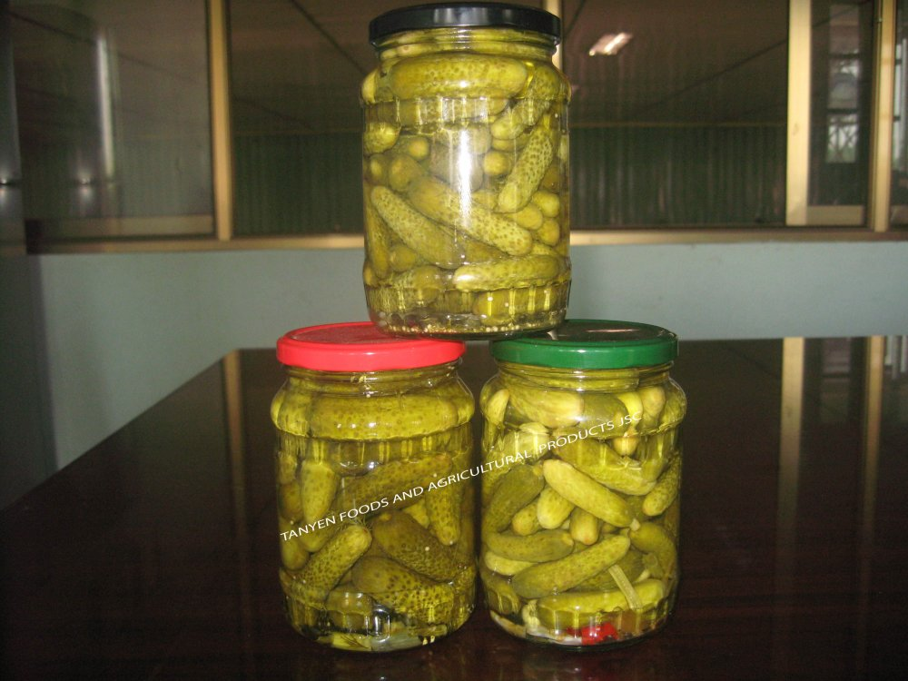 Canned Cucumbers