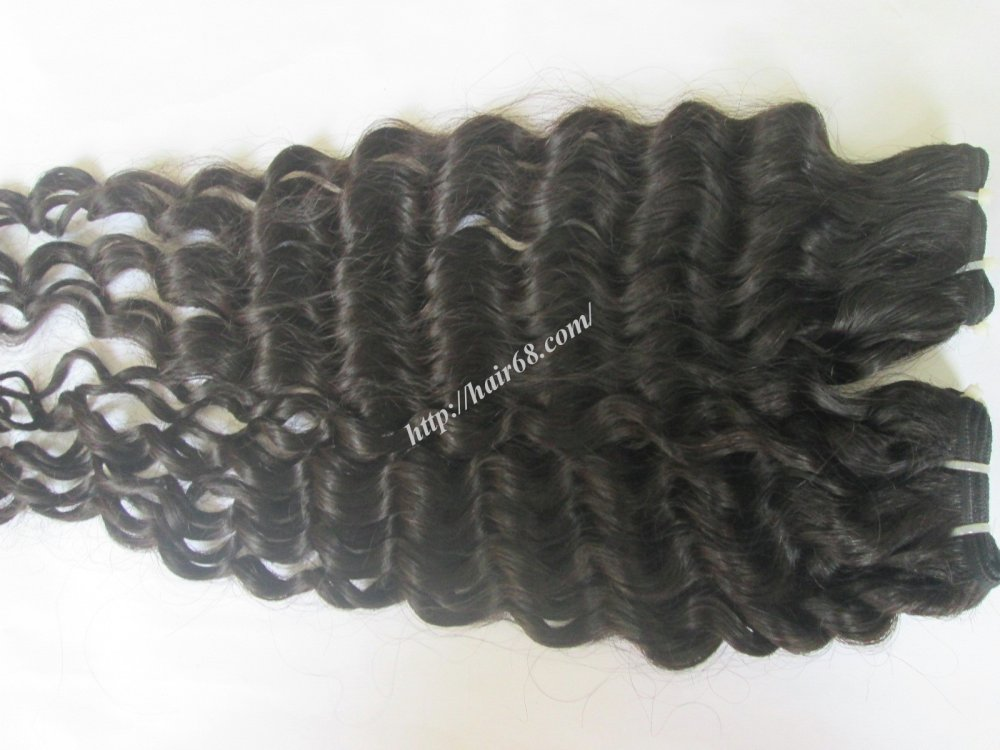 Mua 14 inch Curly Weave Remy Hair Extensions – Single Drawn