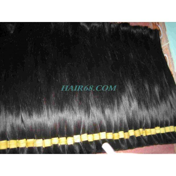 DOUBLE DRAWN STRAIGHT HAIR 18