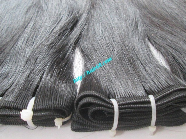 10 inch Cheap Human Hair Weave - Single Straight