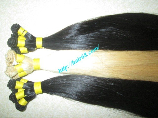 Mua 18 inch Hand Tied Wefted Hair Extensions – Straight Single