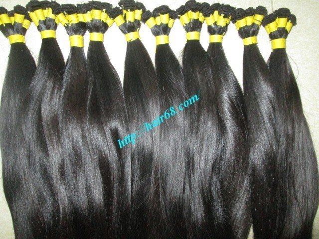 Mua 14 inch Hand Tied Remy Weft Hair Extensions – Straight Double