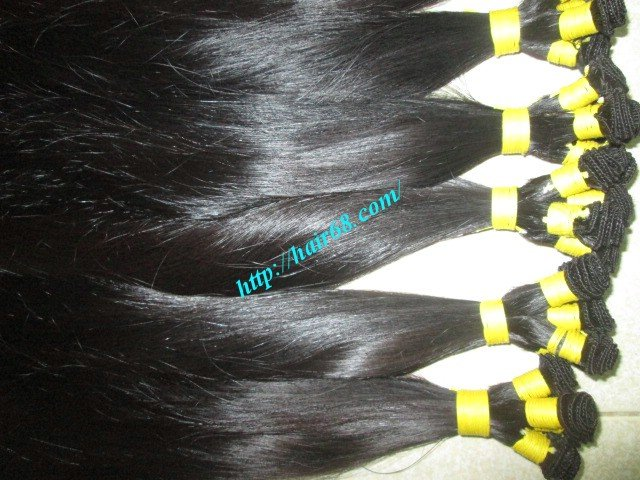 Mua 26 inch Hand Tied Weft Human Hair Extensions – Straight Double