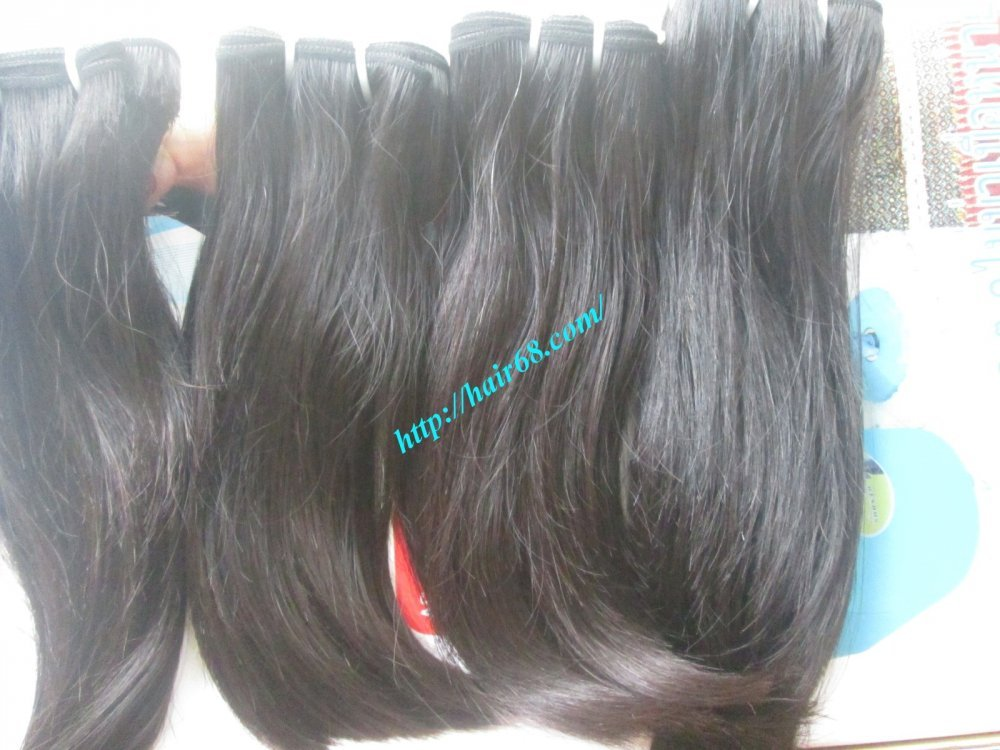 DOUBLE STRAIGHT WEAVE HAIR 8 INCH - 32 INCH