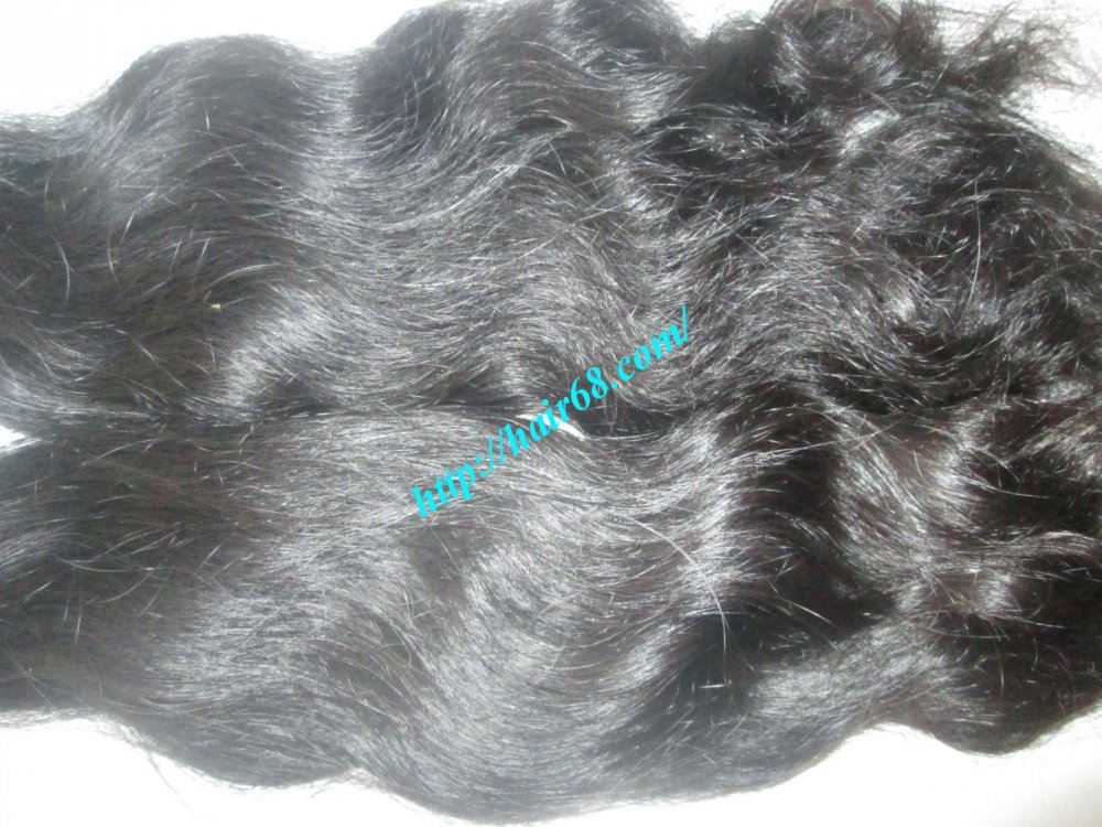 SINGLE WAVY WEAVE HAIR 8 INCH - 32 INCH