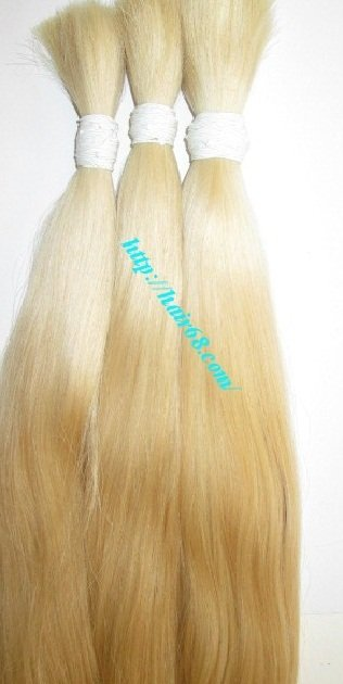 Mua BULK BLONDE HUMAN HAIR STRAIGHT 8 INCH - 32 INCH